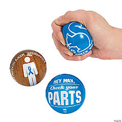 Men's Health Awareness Stress Balls