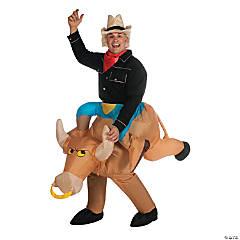 Men's Inflatable Bull Rider Costume
