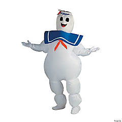 Men's Inflatable Ghostbusters Stay Puft Marshmallow Man Costume