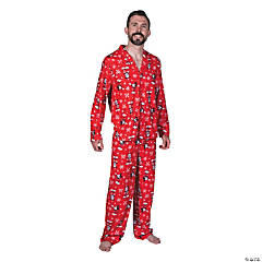 Men's Mickey Mouse Pajamas - Medium