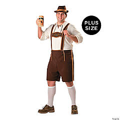 Men's Plus-Size Bavarian Guy Costume - 3X