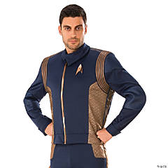 Men's Star Trek: Discovery™ Copper Operations Uniform Costume - Standard