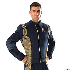 Men's Star Trek: Discovery™ Gold Command Uniform Costume - Extra Large