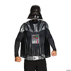 Men's Star Wars™ Darth Vader Top & Mask Costume - Medium