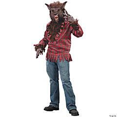 Men's Brown Werewolf Costume - Standard