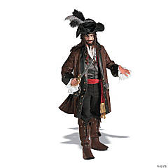 Men's Captain Darkheart Caribbean Pirate Costume