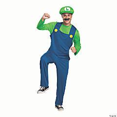Men's Classic Luigi Costume –Large