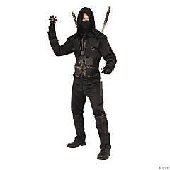 Men's Dark Ninja Costume - Extra Large