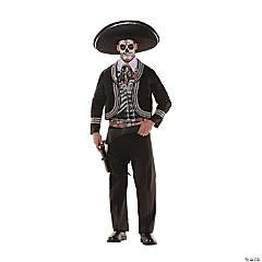 Men's Day of the Dead Costume - Standard