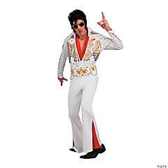 Men's Deluxe Elvis Costume - Large