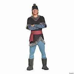 Men's Deluxe Frozen Kristoff Costume –Plus
