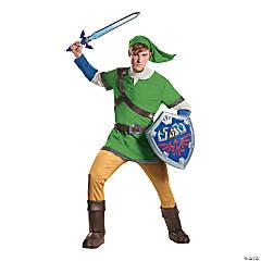 Men's Deluxe Legend of Zelda Link Costume - Small