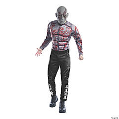 Men's Deluxe Muscle Chest Drax Costume - Standard