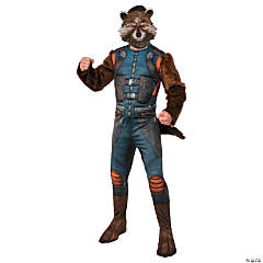 Men's Deluxe Muscle Chest Rocket Costume