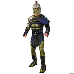 Men's Deluxe Muscle Chest War Hulk Costume - Standard