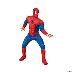 Men's Deluxe Spiderman Costume - Standard