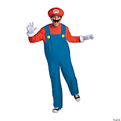 Men's Deluxe Super Mario Bros.™ Mario Costume - XXL