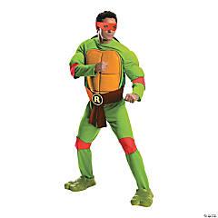 Men's Deluxe Teenage Mutant Ninja Turtles Raphael Costume - Extra Large