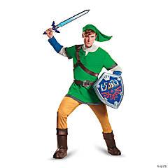 Men's Deluxe The Legend of Zelda™ Link Costume - Large