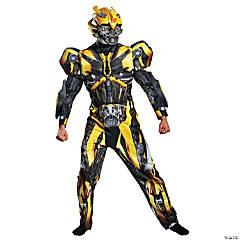 Men's Deluxe Transformers Bumblebee Costume - XXL