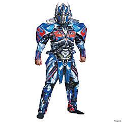 Men's Deluxe Transformers Optimus Prime Costume - Large
