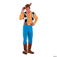 Men's Deluxe Woody Costume