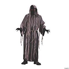 Men's Flashing Eyes Gauze Zombie Costume