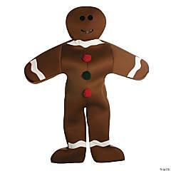 Men's Gingerbread Man Costume