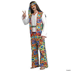 Men's Hippie Dippie Costume - Standard