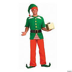 Men's Jolly Elf Costume