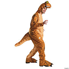 Men's Jurassic World: Fallen Kingdom™ T-Rex Oversized Jumpsuit Costume - Extra Large