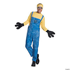 Men's Minion Dave Costume - Extra Large