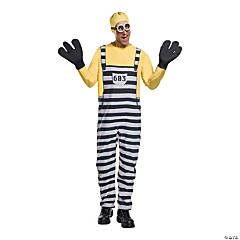 Men's Minion Jail Tom Costume - Extra Large