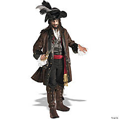Men's Pirates of the Caribbean Jack Sparrow Costume - Extra Large