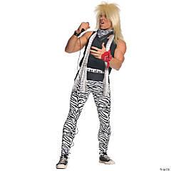 Men's Plus Size 80s Rocker Costume