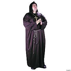 Men's Plus Size Monk Costume