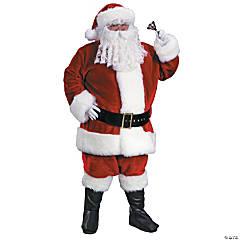 Men's Plush Premium Santa Suit Costume