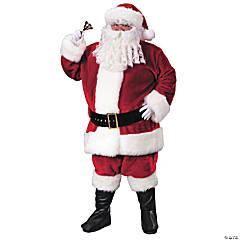 Men's Premium Plush Santa Suit Costume