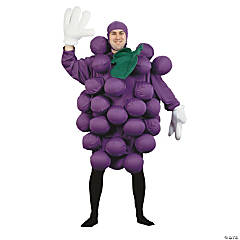 Men's Purple Grapes Costume