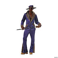 Men's Purple Pimp Suit Costume - Large