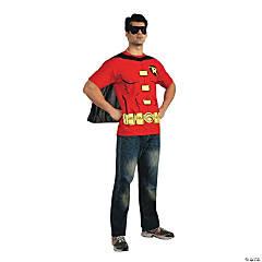 Men's Shirt Robin Costume - Large
