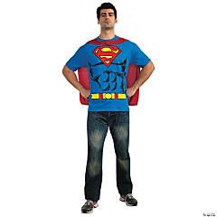 Men's Shirt Superman™ Costume