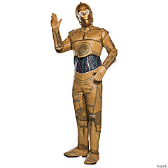 Men's Star Wars™ Classic C-3PO Costume - Extra Large