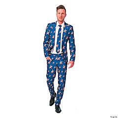 Men's Stars & Stripes Suit - Medium