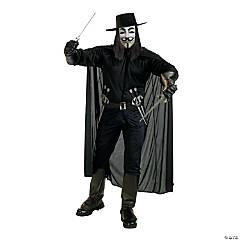 Men's V for Vendetta™ Costume - Extra Large