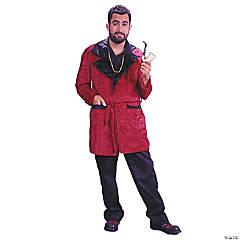 Men's Velvet Smoking Robe Costume