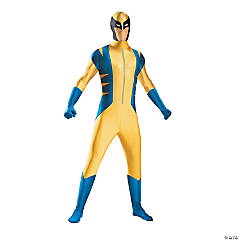 Men's X-Men Wolverine Bodysuit Costume - Small