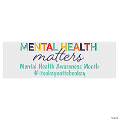 Mental Health Matters Custom Banner -Large