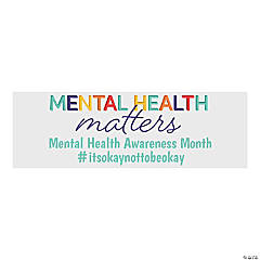 Mental Health Matters Custom Banner - Medium