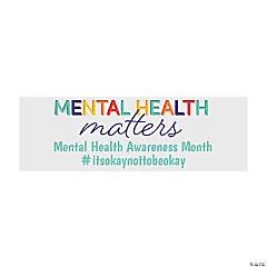 Mental Health Matters Custom Banner - Small